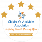 Children's Activity Association GOLD Accredited